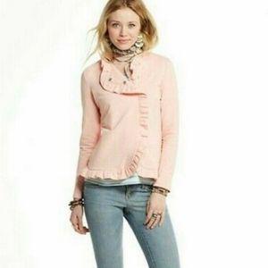 Matilda Jane Mallowcreme Ruffle Pink Jacket